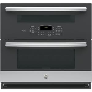 GE Appliances Profile™ 29-3/4 in. Single Convection Wall Oven in Stainless Steel GPT9200SLSS