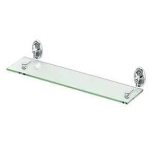 Gatco Glass Shelf in Polished Chrome G4626