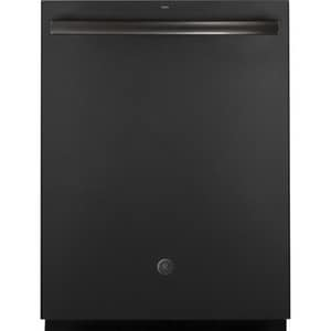 General Electric Appliances 23-3/4 in. 16-Setting Interior Undercounter Dishwasher with Pull Handle and Hidden Control in Stainless Steel GGDT655SFLDS