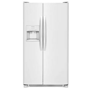 Frigidaire 33 in. 22 cf Freestanding Side-by-Side Refrigerator in Pearl White FFFSS2315TP