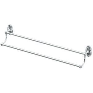 Gatco Camden 24 in. Double Towel Bar in Polished Chrome G4624
