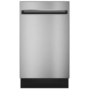 GE Appliances Profile™ 18 in. Built-In Fully Integrated Dishwasher in Stainless Steel GPDT145SSLSS