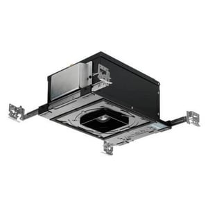Juno Lighting 5-7/16 in. 13W Dimming and Tunable Luminaire in Black JIC43TSQWFU