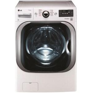 LG Electronics 5.2 cf Mega Capacity Washer with Steam Technology in White LGWM8100HWA