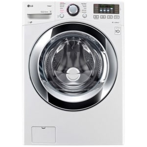LG Electronics 4.5 cf Ultra Large Electric Steam Washer LGWM3670HA
