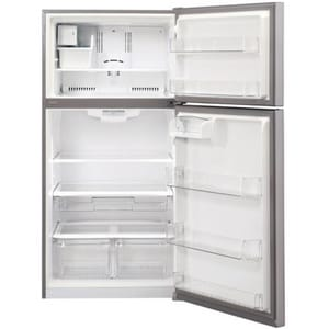 LG Electronics 33-3/8 in. 20.2 cf Top Mount Refrigerator in Stainless Steel LGLTCS20220S