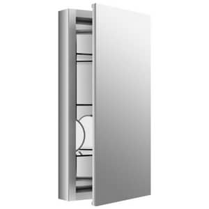 Kohler Verdera® 15 in. 15 x 30 in. Aluminum Medicine Cabinet, Slow Closing Doors K99001-NA