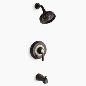 KOHLER Fairfax® Single Handle Single Function Bathtub & Shower Faucet in Oil Rubbed Bronze Trim Only KTS12007-4SE-2BZ