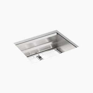 Kohler Prolific® 23 x 17-3/4 in. Stainless Steel Single Bowl Undermount Kitchen Sink K23650-NA