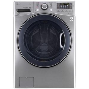 LG Electronics 4.5 cf Ultra Large Capacity Washer in Graphite Steel LGWM3770HVA