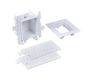 Oatey Moda™ 3-19/50 x 8 x 4-17/20 in. Plain 1-valve Supply Box O37971