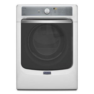 Maytag Professional Series 7.3 cf Stainless Steel Drum Gas Dryer in White MMGD8100DW