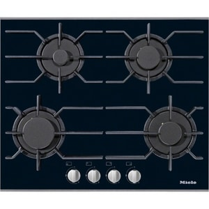Miele Appliances 24 in. 4-Burner Natural Gas Cooktop in Black MKM3010GBl