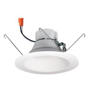 Nora Lighting 12.5W LED Baffle Trim in White NNOX563230WW