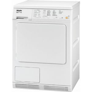 Miele Appliances 21-1/2 x 33-3/8 in. Electric Condenser Dryer in White MT8033CWH