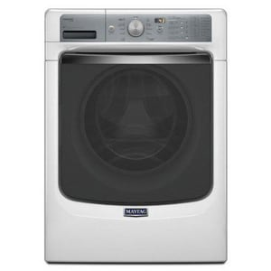 Maytag Maxima® 27 in. 4.5 cf 11-Cycle Front Load Washer in White MMHW8100DW