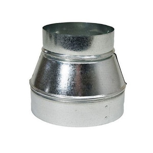 8 in. x 5 in. 30 ga Galvanized Sure-Fit Duct Reducer SHMSFT30XS