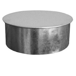 18 in. Galvanized Steel Duct Cap in Round Duct SHMREC2418