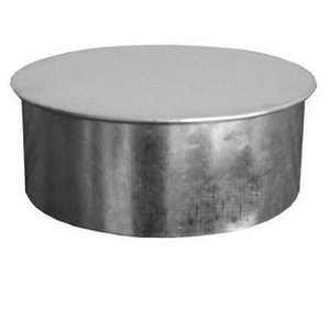 4 in. Galvanized Steel Duct Cap in Round Duct SHMREC30P