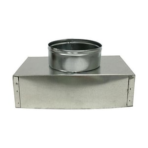 10 x 6 x 8 in. Duct Square-To-Round SHMBBS2610UX