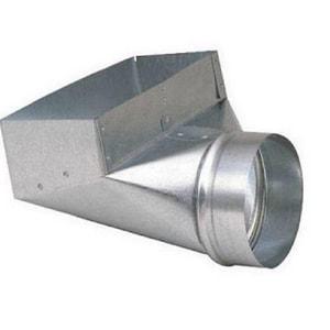 3-1/4 x 12 x 8 in. 90 Degree Boot Galvanized Steel 26 ga SHMSHB26S12X