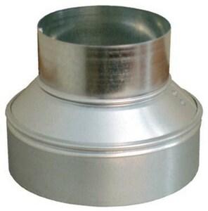 5 in. x 4 in. 24 ga Galvanized No-Crimp Duct Reducer SHMRC24SP