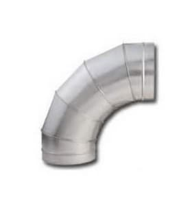 Clifco Metal 8 in. 24 ga Center Line Radius Elbow CSPEC24