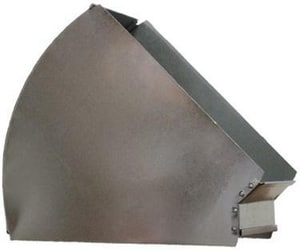 Champion Manufacturing 14 x 8 in. Horizontal Angle 45 Degree Elbow CHA3085