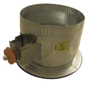 Elgen Manufacturing 6 x 6 in. Galvanized Steel Starting Collar in Round Duct ESF0030