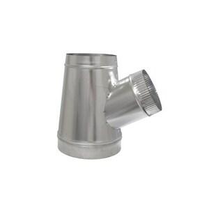 Cody Company 10 x 9 x 6 in. Galvanized Steel Duct Wye Branch COD80010YU