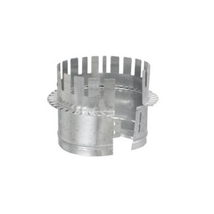 Cody Company 7 x 7 in. Metal Starting Collar in Round Duct COD525W