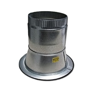 Elgen Manufacturing 16 in. Duct Round Takeoff Galvanized Steel in Round Duct ESF0823