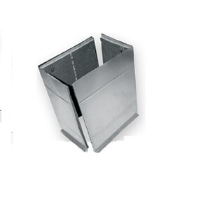 36 x 13-1/4 x 20-1/4 in. Plenum Liner Flange Cap SHMPLLCF26132136