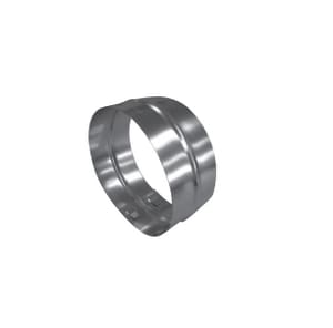 Ecco Manufacturing 6 x 4-1/4 x 6 in. Duct Coupling in Spiral Duct E4324
