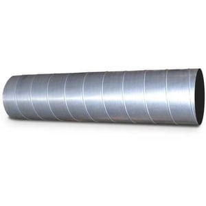 18 X 4 Galvanized Round SPRL DUCT Coupling 22 Gauge E431822