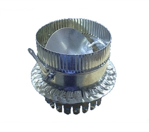 M & M Manufacturing 12 x 14 in. Galvanized Steel Starting Collar in Round Duct M507D12KS7L
