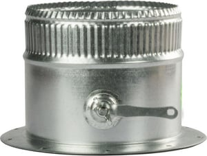 Greenseam Industries 4 in. Galvanized Steel Starting Collar in Round Duct D6POS2CRGA26D38