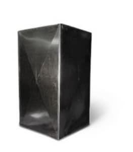20 in. Galvanized Plenum with Cap SHMPL202048