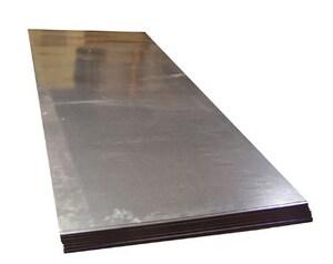 Majestic Steel USA 48 x 96 in. 16 ga Steel Sheet in Black BSSCR164896
