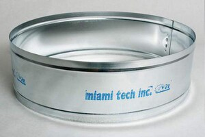 Miami Tech 10 in. 26 ga Flex Duct Connector MDC10