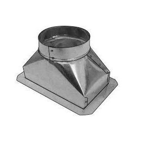 Royal Metal Products 4 x 12 x 6 in. Straight Boot R2414126