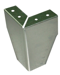 Metal Shop 4 in. 22 ga Plenum Box Leg Set of 4 M360