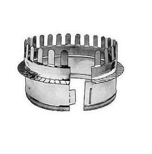 12 in. Galvanized Steel Starting Collar in Round Duct SHMCSTDBG12