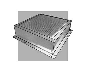 Royal Metal Products 3-1/2 x 6 x 14 in. 30 ga Duct Plenum R506R6G146