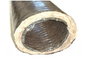 Royal Metal Products 903 Series 10 in. x 25 ft. Flexible Air Duct R6 R903R610