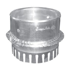 5 in. Galvanized Steel Starting Collar in Round Duct S404DCCS