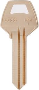 Kaba Ilco Brass Corbin Key Blank (50 per Box) ICO88BR