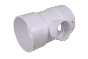 12 x 12 x 6 in. Hub Reducing, DWV and Street Schedule 40 PVC Tee MUL026956