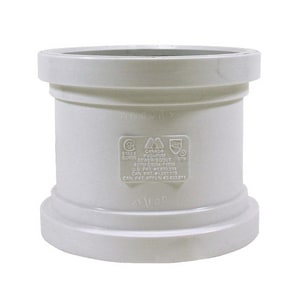 Multi-Fittings Corporation Trench Tough Plus™ 4 in. Gasket Straight SDR 35 PVC Sewer Repair Coupling MUL063624