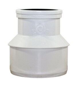 Trench Tough Plus™ 10 x 4 in. Spigot x Gasket Reducing and Concentric DR 35 PVC Bushing MUL043368